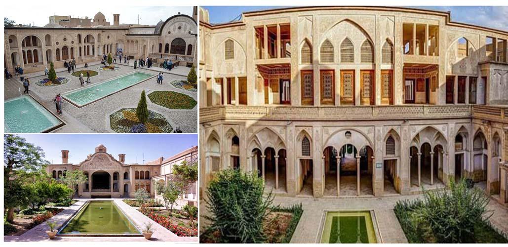 آدرس خانه های تاریخی معروف در کاشان